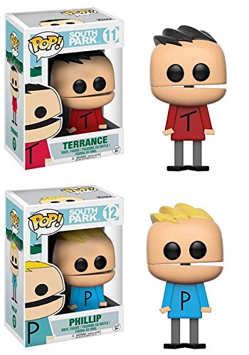Funko POP! South Park: Terrance + + + Phillip – TV Cartoon Stylized Vinyl Figure NEW 0386ad