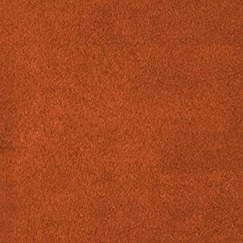 Solid Rust Fleece Fabric 60 Inch Sold By