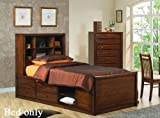 Scottsdale Bedroom Collection Full Chest Bed - Deep Walnut