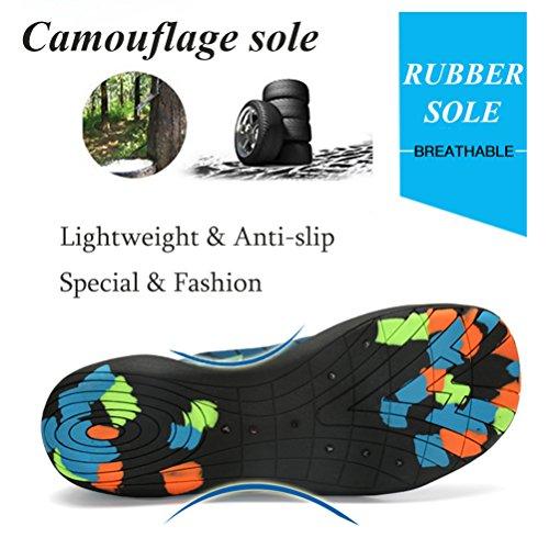 Barefoot River Blue On Yoga Pool Womens Slip Beach Dry Swim Aqua Socks Shoes Water for Shoes Mens ASLISA Quick P8TxwUpP