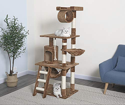 Amazon.com: Go Pet Club Muebles de gato para árbol ...