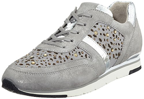 Gabor Damen Fashion Sneakers Grau (grijs / Steen (strass) 69)
