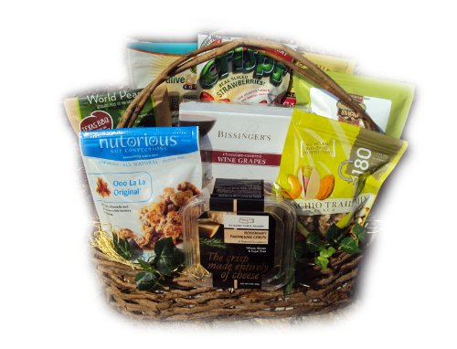 The Healthy Assistant Gift Basket for Secretary's Day & Administrative Professional's Day