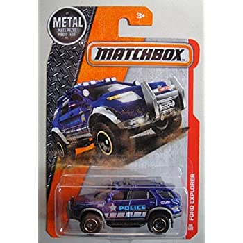 2014 Matchbox #87 FORD POLICE INTERCEPTOR Marshall-MBX ...