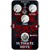 JOYO JF-02 Ultimate Drive Guitar Effects Pedal Overdrive, Simulation Tube AMP Pedal for Electric Guitar Effects, Between…