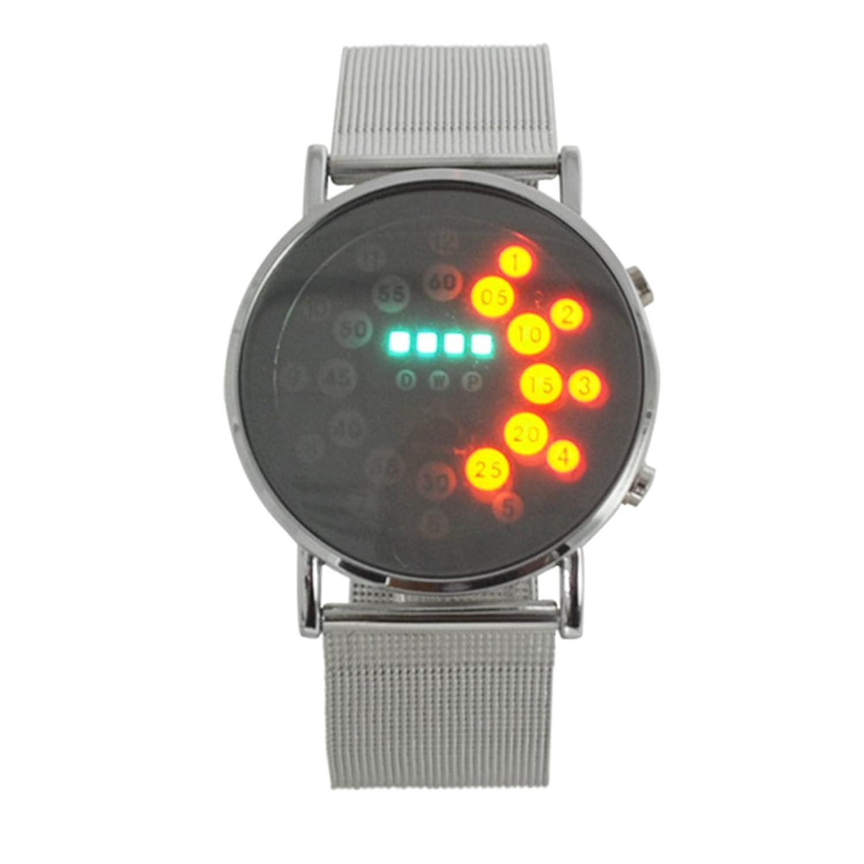 LED電子Wrist Watches for Men and Women カラフル B0775GDS11  カラフル