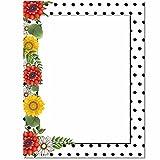 Daisy Dots Letterhead Laser & Inkjet Printer Paper, 100 pack