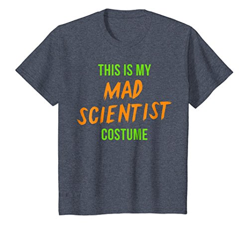 Scary Mad Scientist Halloween Costume Shirt