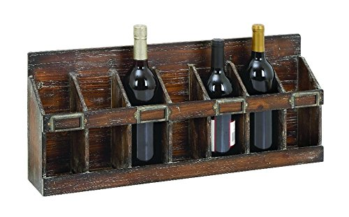 Benzara Wine Rack with 7 Bottles Hold of Standard Size