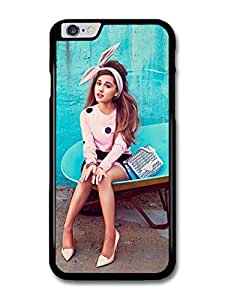 Ariana Grande Blue Background Popstar Singer case for iPhone 6 Plus