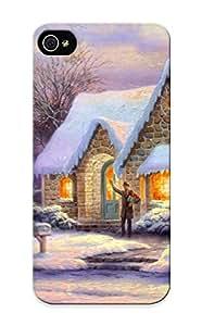 (jgCrXdJ2665fdKfW)durable Protection Case Cover For Iphone 5/5s(holidays Christmas Seasonal Festive )