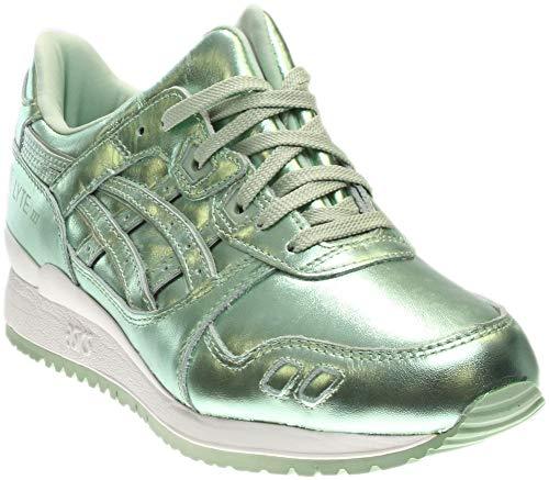 half off 773a0 8e8e3 Asics Women's Gel-Lyte Iii Green/Green Ankle-High Fashion Sneaker - 9.5M