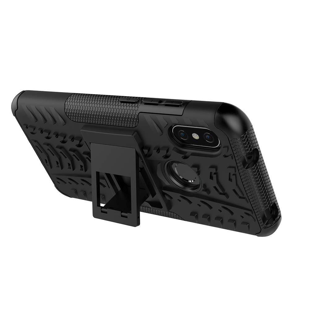 Xiaomi Mi A2 Lite//Redmi 6 Pro Case FoneExpert/® Heavy Duty Shockproof Rugged Impact Armor Hybrid Kickstand Protective Bag Cover Case for Xiaomi Mi A2 Lite//Redmi 6 Pro