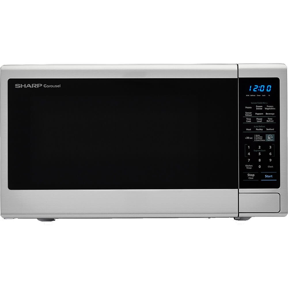 Carousel 1.8 Cu. Ft. 1100W Countertop Microwave Oven Sharp SMC1843CM