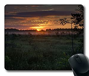 Valkmusa Sunrise Mouse Pad Desktop Laptop Mousepads Comfortable Office Mouse Pad Mat Cute Gaming Mouse Pad by Maris's Diary