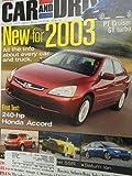 2003 Honda Accord EX V-6 / Mercedes Benz CLK 500 / Acura TL / Audi A4 / BMW 330i / Infiniti G35 / Mercedes C320 / VW Passat Road Test