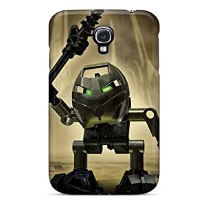 YqV471QIrP Angry 3d Robot Awesome High Quality Galaxy S4 Cases Skin