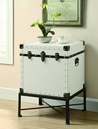 Delightful Coaster Home Furnishings Accent Cabinet, White