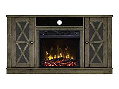 Willis Electric Fireplace Media Console in Spanish Gray - 18MM6092-PI14S