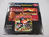 Scrabble Battleship Monopoly Best Selling Software 3 pack