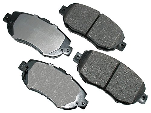 (Akebono ACT619 ProACT Ultra-Premium Ceramic Brake Pad Set)