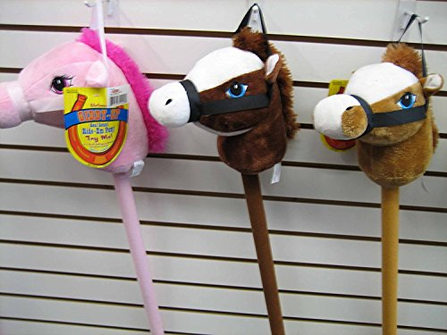 Horse On A Stick Toy (My First Horse, 29 Inch Stick Horse, Giddy-up and Go Pony w/ Real Sound - Brown)