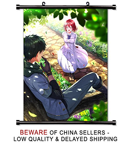 Snow White with the Red Hair Anime Fabric Wall Scroll Poster