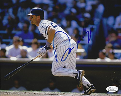 Autographed Mattingly Photo - Autographed Don Mattingly 8x10 New York Yankees Photo with JSA COA
