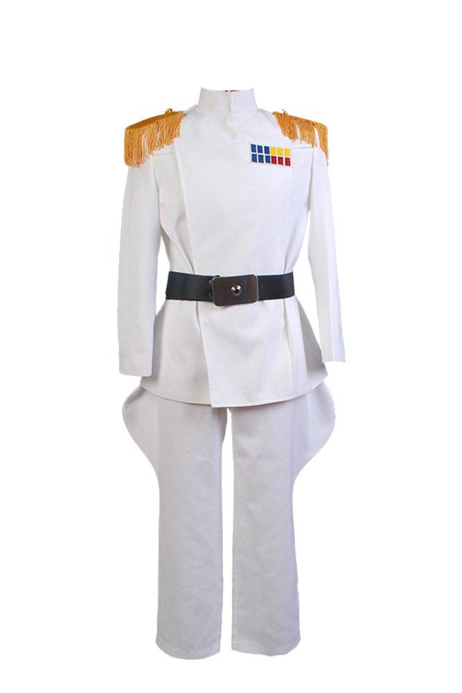 FUMAN Star Wars Imperial Officer Weiß Grand Admiral Uniform Cosplay Kostüm Herren Weiß S B0180MNLP0 Kostüme für Erwachsene Neues Design | Spielzeugwelt, fröhlicher Ozean