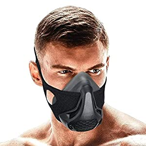 QISE Training Mask Resistance Sport Mask 24/48 Breathing Resistance Levels