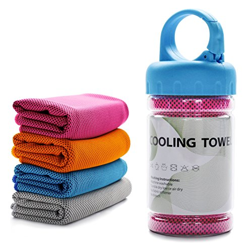 Sweat Towel for Golf Tancano Sports Cooling Towel for Instant Cooling Relief 40