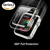 Apple Watch Series 2 Case, Misxi iphone Watch 2 TPU Screen Protector All-around 0.3mm ultra-thin Cover for New i Watch 2 (42mm)