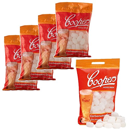 Coopers Priming Sugar Tablets 5-pack (80 per pack)