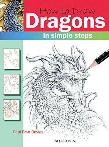 Search Press Books-How To Draw Dragons ()