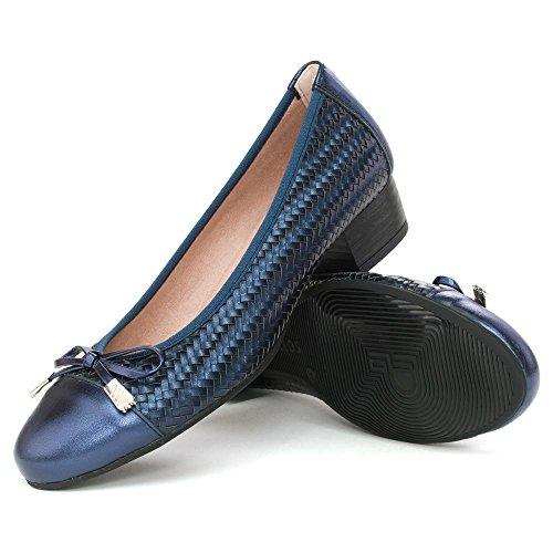 Marine Femme Pour Bleu Pitillos Ballerines Uzgqpp