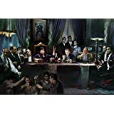 Gangster Last Supper by Ylli Haruni 36x24 Art Print Poster Godfather Scarface Sopranos Goodfellas