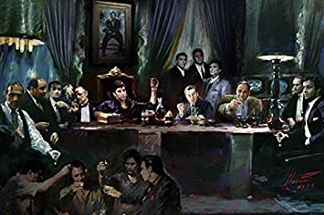 Gangster Art Paintings