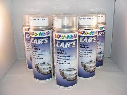 Dupli Color 385858 Car S Rallye vernice trasparente lucido 6 bombolette da 400 ml