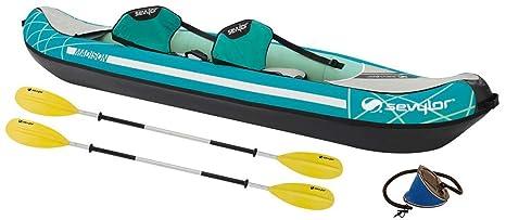SEVYLOR 2000026860 2personas(s) Verde, Gris Kayak Inflable Kayak ...