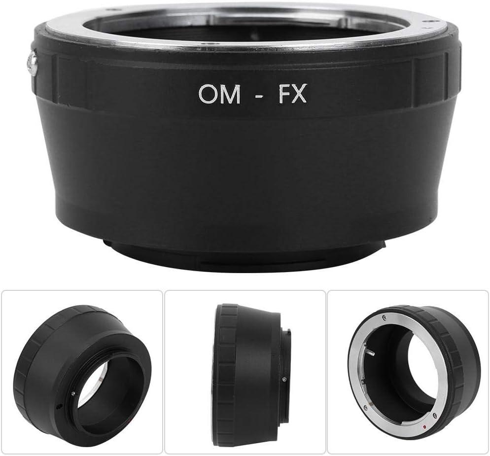 OM-FX Manual Focusing Adapter Ring Camera Lens Mount Adapter Ring for Olympus OM Mount Lens to for Fujifilm FX Mount Camera