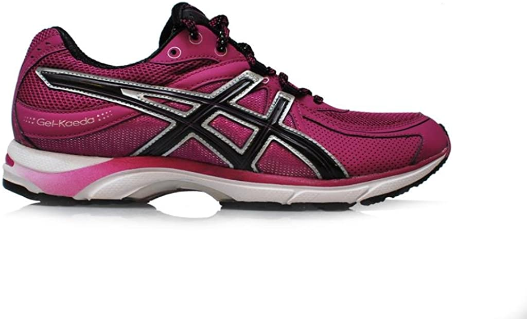 Asics Zapatillas de Deporte. Amortiguación Gel kaeda W Purple Black White, Color, Talla 42: Amazon.es: Zapatos y complementos