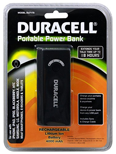 Duracell Portable Battery Pack - 9