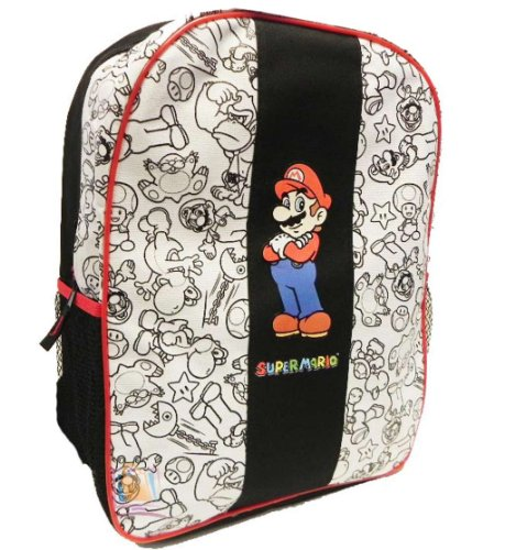 Super Mario Backpack Yoshi Mushroom