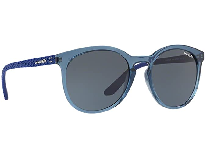 1099bf10d2 Image Unavailable. Image not available for. Color  Arnette Men s Chenga R  Square Sunglasses transparent blue 56.0 mm