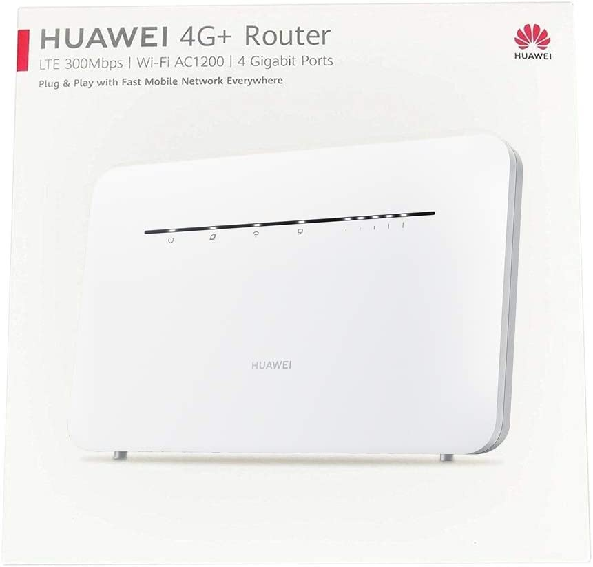 Huawei 4g Router 3 Pro White Computers Accessories