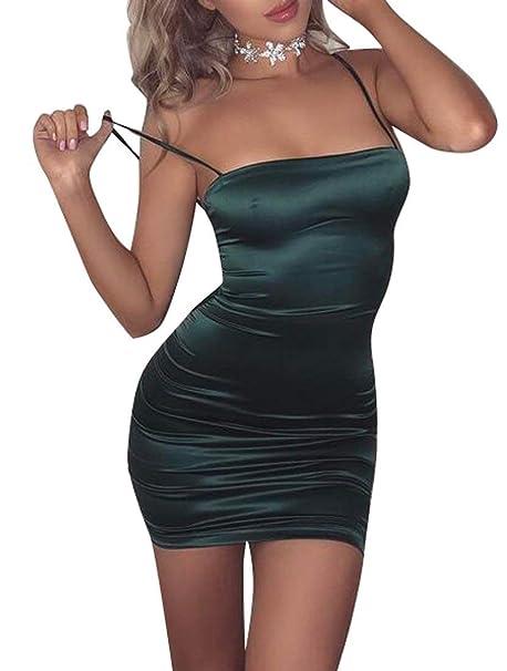 Spaghetti Strap Mini Dress Clubwear