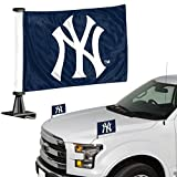 ProMark MLB New York Yankees Flag Set 2Piece Ambassador Stylenew York Yankees Flag Set 2Piece Ambassador Style, Team Color, One Size