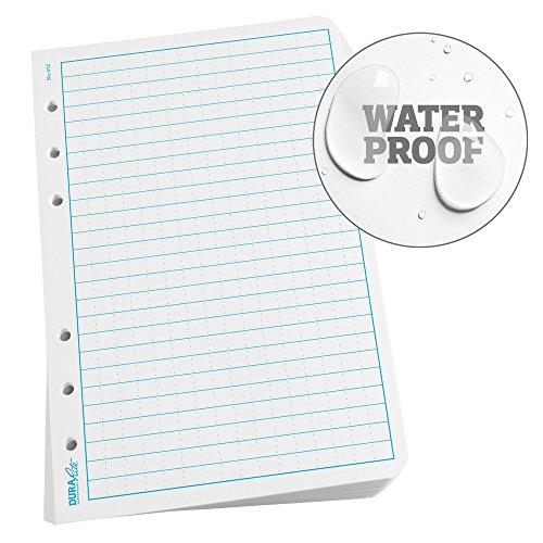Rite in the Rain Waterproof (DURARITE) Loose Leaf Paper, 4 5/8