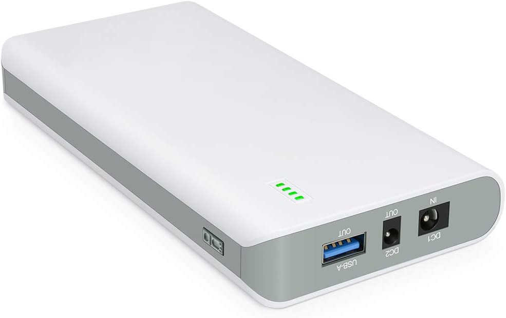 TalentCell Lithium ion Battery Pack NB7101, Rechargeable 17500mAh 64.75Wh Li-ion Power Bank with DC 24/19/5V Output for Laptop, Notebook, Smartphone, Camera and More