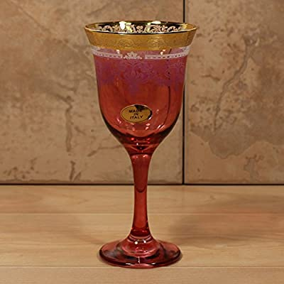 Lorenzo Import Goblets (Set of 6), Red